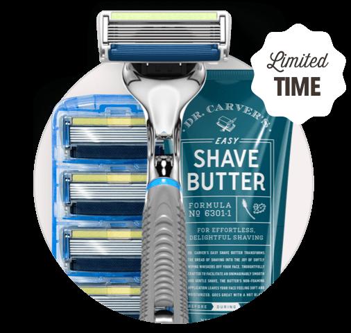 Dollar Shave Club Razor & Blades